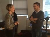 Emma Reynolds, Shadow Housing Minister, chats to Matt